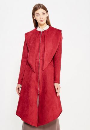 Пальто Sahera Rahmani. Цвет: бордовый