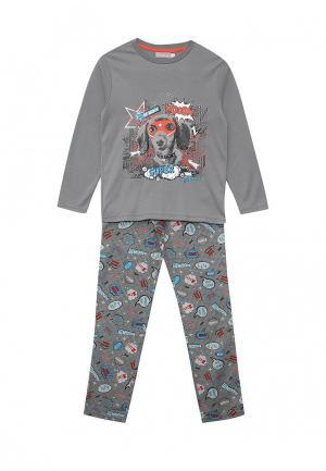 Пижама Boboli. Цвет: серый