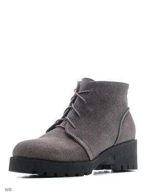 Ботинки ESTELLA. Цвет: бежевый, темно-бежевый