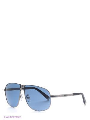 Солнцезащитные очки DQ 0077 14V Dsquared. Цвет: синий