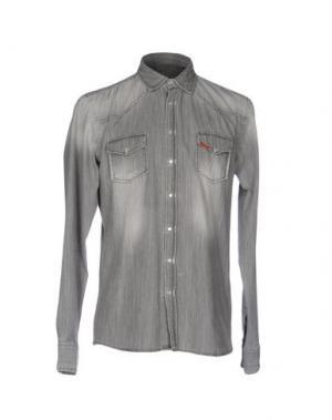 Джинсовая рубашка LIU •JO MAN. Цвет: серый