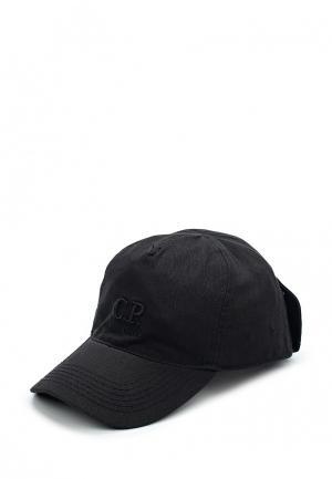 Бейсболка C.P. Company. Цвет: черный