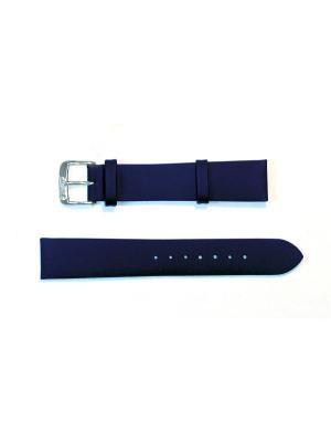 Ремень для часов 18 мм. Di-Modell Nappa Wapro. Цвет: синий