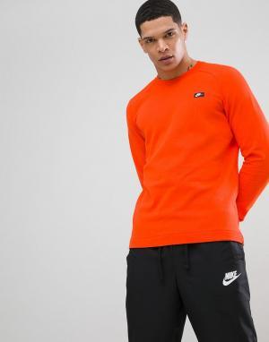 Nike Оранжевый свитшот Modern 805126-891. Цвет: оранжевый