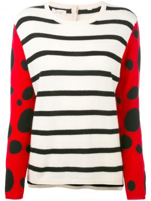 Кашемировый свитер в полоску Chinti & Parker. Цвет: многоцветный