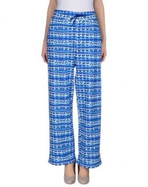 Повседневные брюки AGATHA RUIZ DE LA PRADA. Цвет: синий