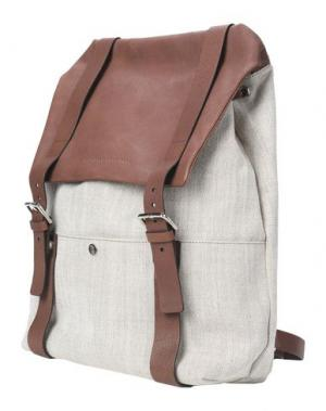 Рюкзаки и сумки на пояс BRUNELLO CUCINELLI. Цвет: бежевый