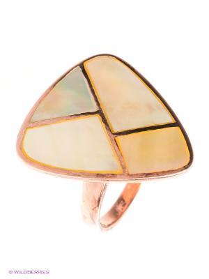 Кольцо BALEX. Цвет: золотистый, желтый, бежевый