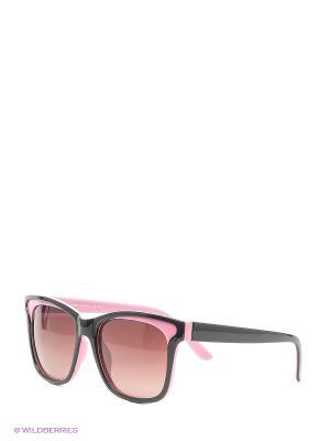 Поляризационные очки Vittorio Richi. Цвет: розовый, черный
