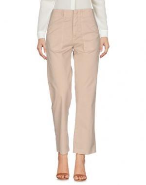 Повседневные брюки FAIRLY. Цвет: бежевый