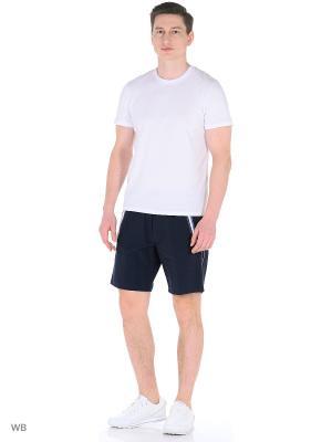 Спортивные шорты TAGERTON. Цвет: темно-синий