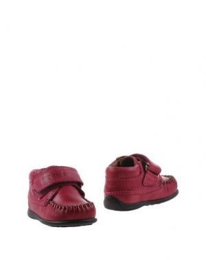 Полусапоги и высокие ботинки BISGAARD. Цвет: пурпурный