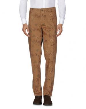 Повседневные брюки JEY COLE MAN. Цвет: коричневый