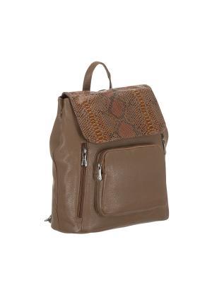 Рюкзак 5700 искусственная кожа Sofiya. Цвет: бежевый
