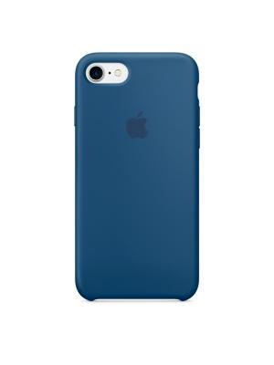 Чехол (клип-кейс) Apple для iPhone 7 MMWW2ZM/A синий. Цвет: синий