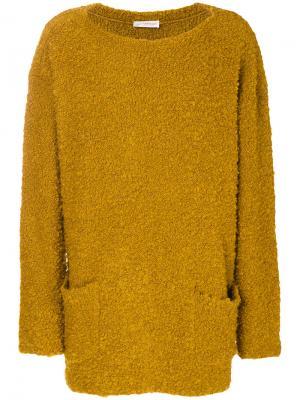 Oversized slouchy jumper Faith Connexion. Цвет: жёлтый и оранжевый