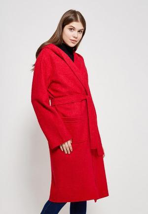 Пальто Magwear. Цвет: красный