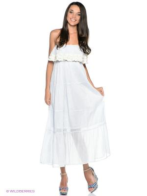Платье Fullah Sugah. Цвет: светло-голубой