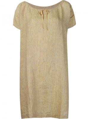 Платье с короткими рукавами Dosa. Цвет: зелёный