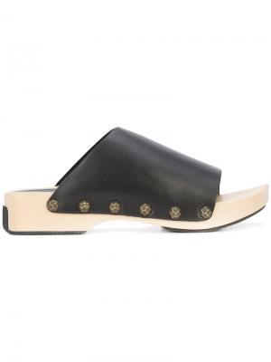 Slide sandals Opening Ceremony. Цвет: чёрный