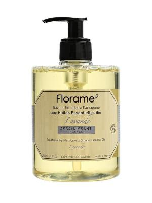 Florame Мыло Жидкое  Лаванда (500 Мл). Цвет: фиолетовый