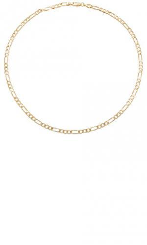 Ожерелье maria figaro chain Child of Wild. Цвет: металлический золотой
