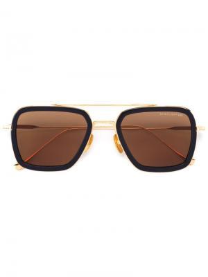 Солнцезащитные очки Flight Dita Eyewear. Цвет: синий