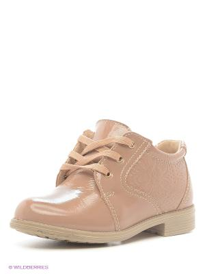 Ботинки San Marko. Цвет: коричневый, темно-бежевый