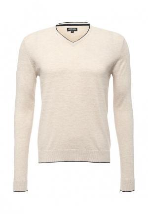Пуловер Fresh Brand. Цвет: бежевый
