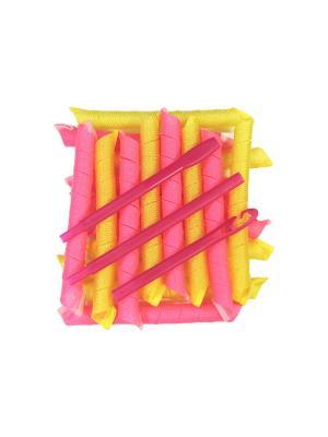 Magic Leverage Бигуди Длинные Премиум, длина 55 см, ширина 2,2 18 шт.. Цвет: розовый
