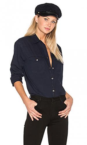 Рубашка с застёжкой на пуговицах wanderer ROLLAS ROLLA'S. Цвет: синий