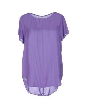 Блузка BRAND UNIQUE. Цвет: фиолетовый