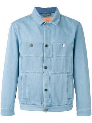 Джинсовая куртка Études. Цвет: синий