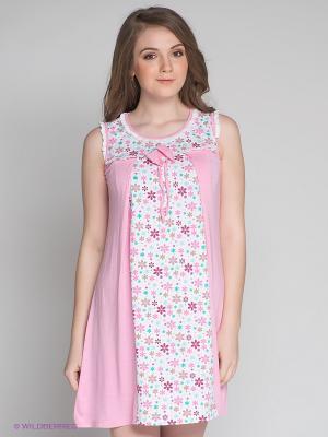 Сорочка Русмар. Цвет: бледно-розовый