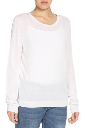 Пуловер OUI. Цвет: молочный