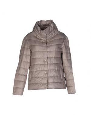 Куртка BINI COMO. Цвет: голубиный серый