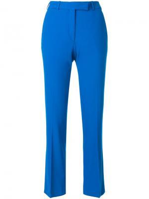 Укороченные брюки строгого кроя Etro. Цвет: синий