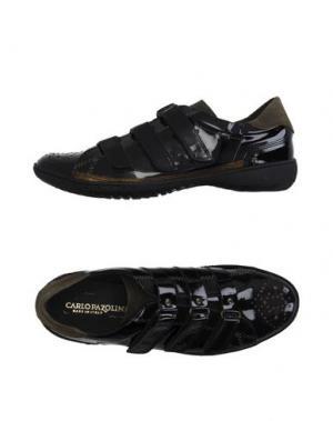 Низкие кеды и кроссовки CARLO PAZOLINI. Цвет: черный