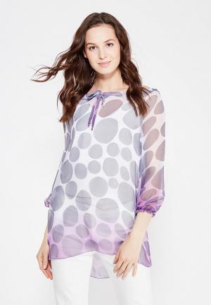 Блуза Adzhedo. Цвет: серый