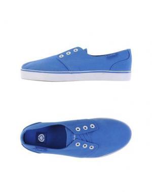 Низкие кеды и кроссовки C1RCA. Цвет: синий
