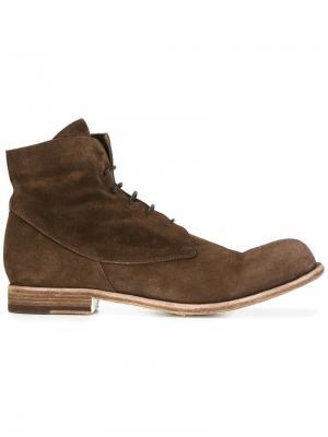 Высокие ботинки Bubble Officine Creative. Цвет: коричневый