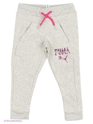 Брюки STYLE Y Sweat Pants FL Puma. Цвет: серый