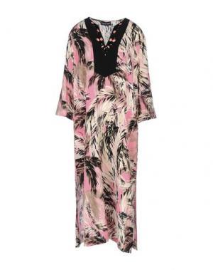 Платье длиной 3/4 DANIELA DREI. Цвет: светло-фиолетовый