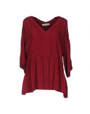 Блузка TROU AUX BICHES. Цвет: пурпурный