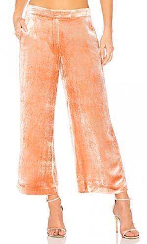 Широкие брюки robbie A.L.C.. Цвет: rose