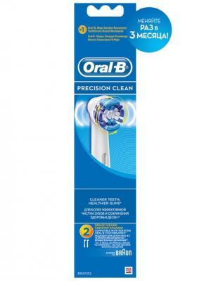 Насадка EB20 Precision Clean 2шт (12/3060) Oral-B. Цвет: голубой, белый