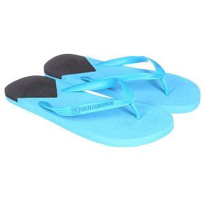 Шлепанцы  Molokai New Wave Blue/Black Quiksilver. Цвет: голубой,черный