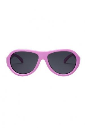 Детские солнцезащитные очки Babiators. Цвет: розовый