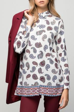 Рубашка VAVIST. Цвет: мультицвет