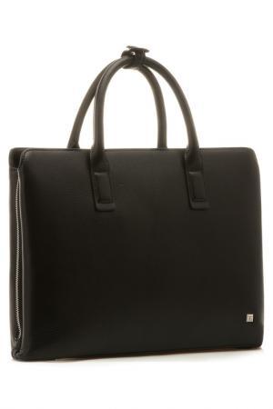 Портфель Eleganzza. Цвет: черный
